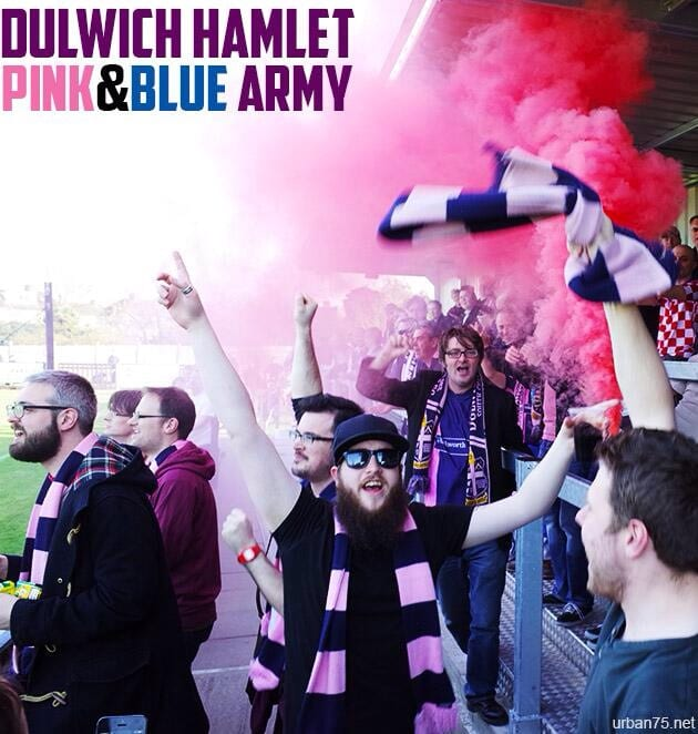 Pink and blue army