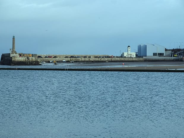 The Harbour Arm, Magate
