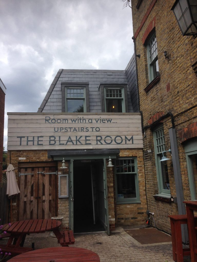 The Blake Room at The Clock House