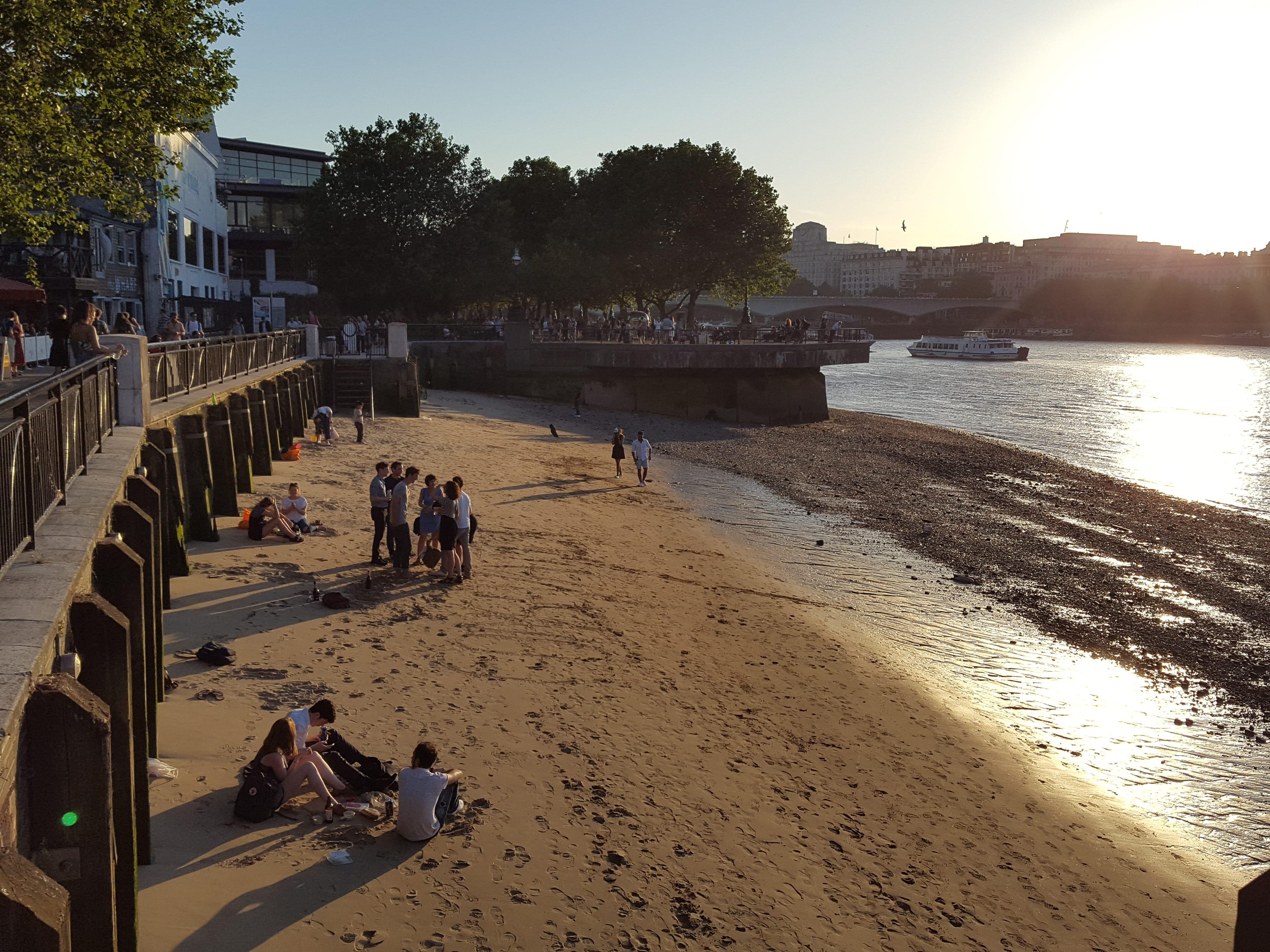 Gabriel's Wharf beach