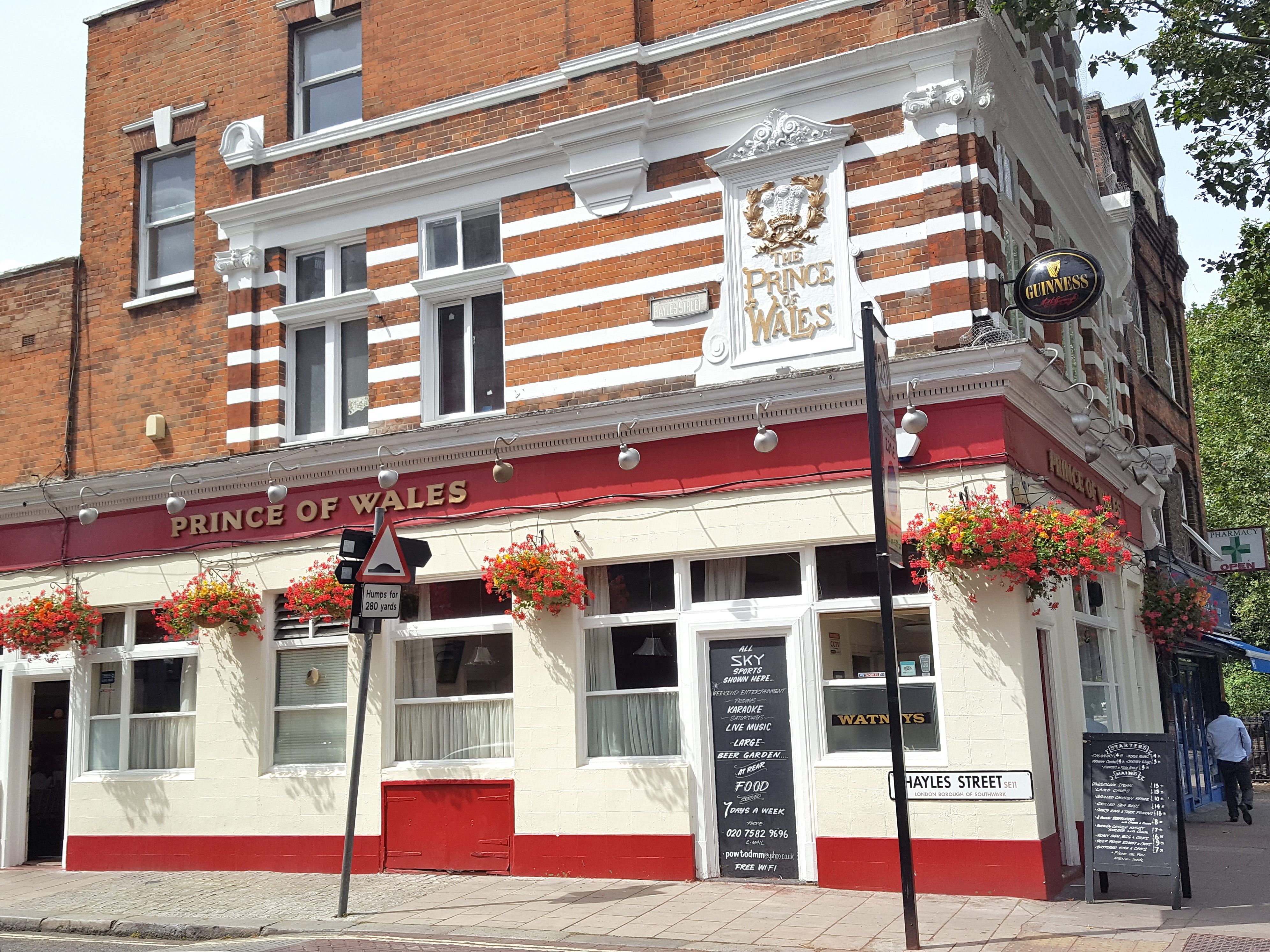 Prince of Wales, SE1