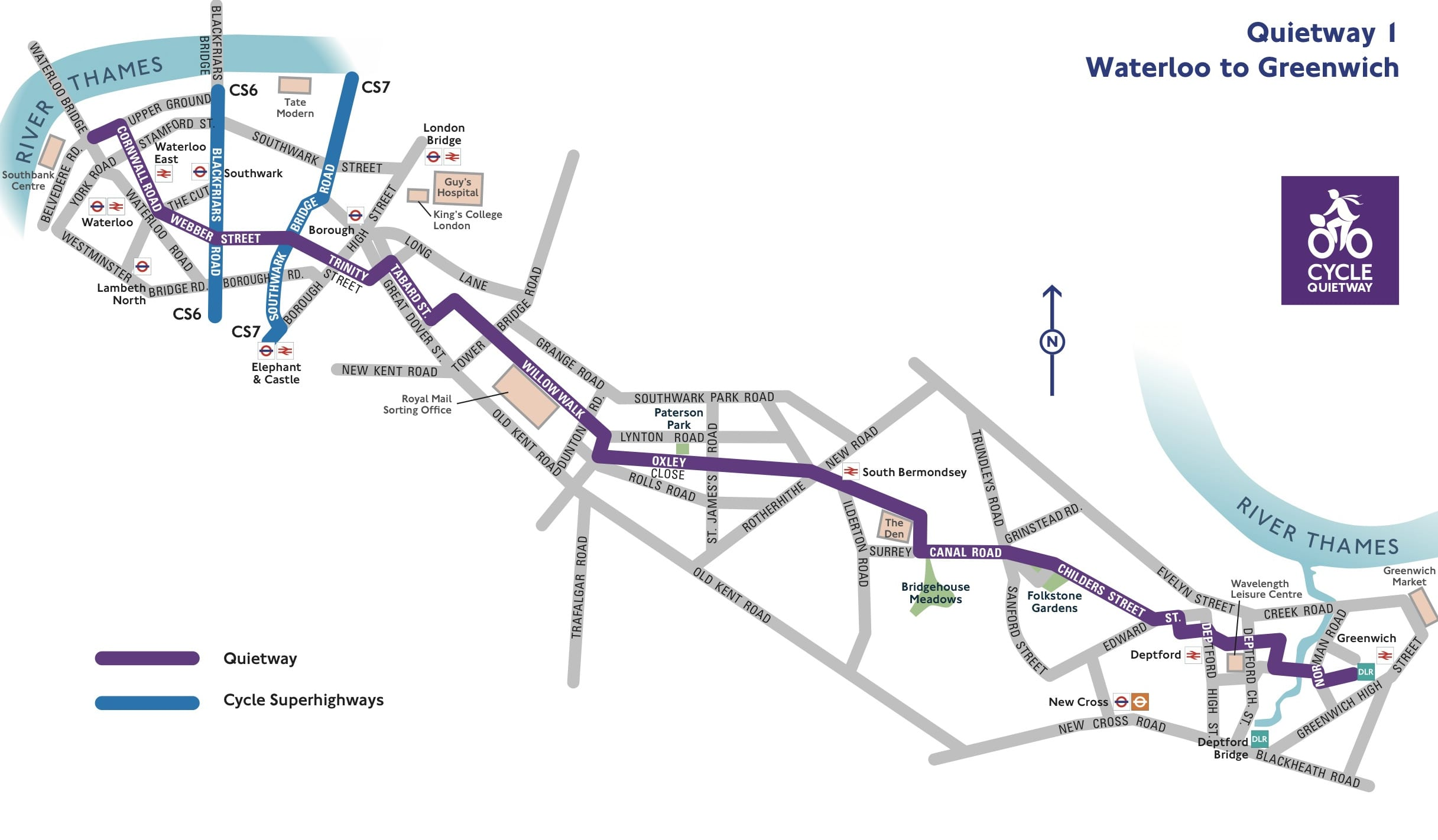q1-waterloo-to-greenwich-map