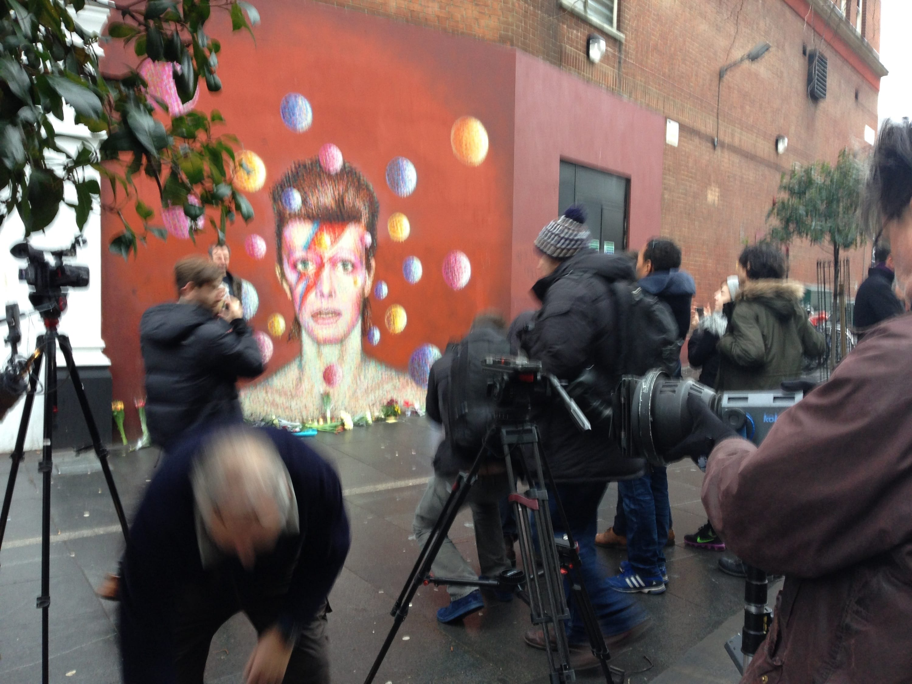 Bowie mural - Brixton
